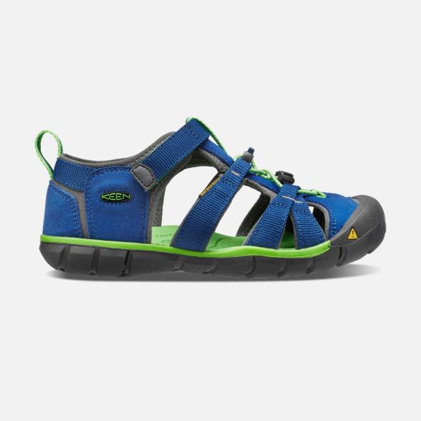 KEEN Seacamp II sandales – zils/zaļš 2