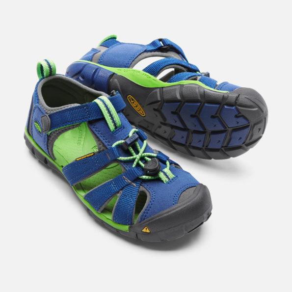 KEEN Seacamp II sandales – zils/zaļš 4