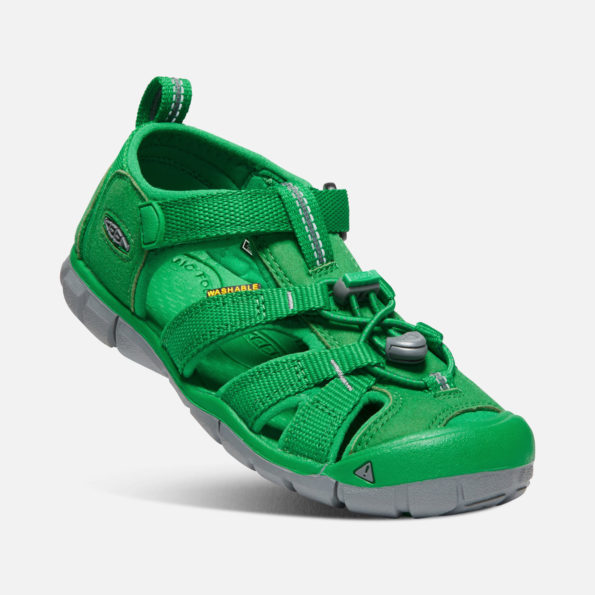 KEEN Seacamp II sandales – zaļš 2