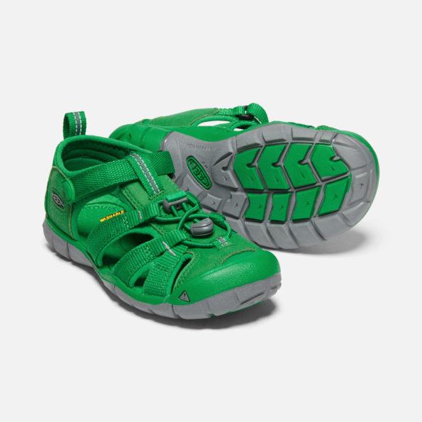 KEEN Seacamp II sandales – zaļš 5