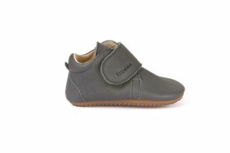 Froddo ādas kurpītes – pelēkas