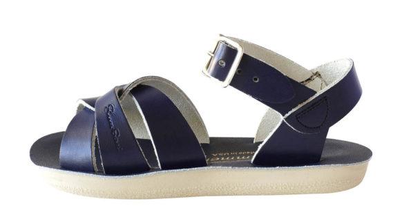 Zilās peldētāju sandales lielākām pēdām 3