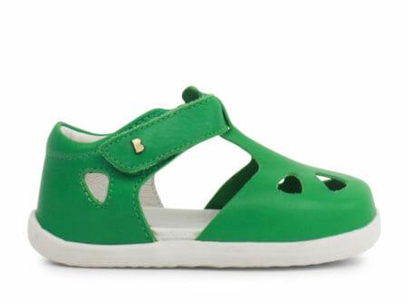 Bobux ZAP sandalītes – zaļas