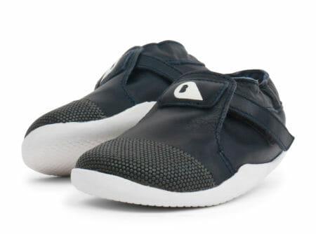 Bobux ādas kurpītes - zilas