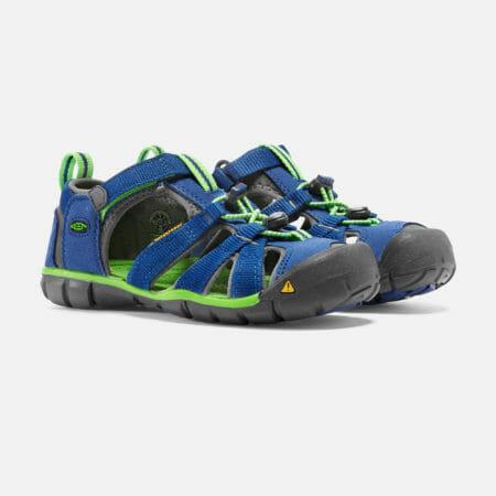 KEEN Seacamp II sandales – zils/zaļš