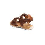 bisgaard brūnās ādas sandales