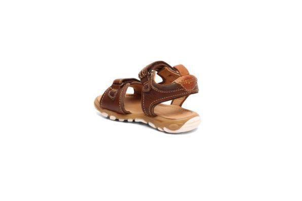 bisgaard brūnās ādas sandales 2