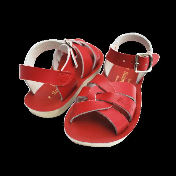 Sarkanās peldētāju sandales 3