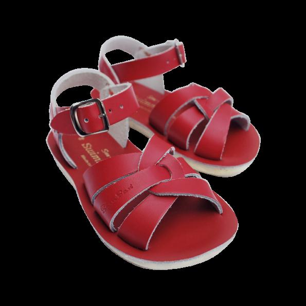 Sarkanās peldētāju sandales 4