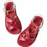 Sarkanās peldētāju sandales 1