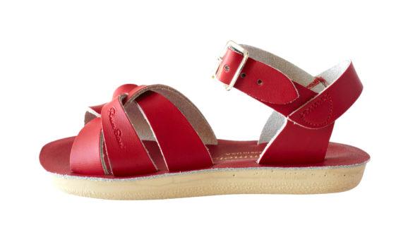 Sarkanās peldētāju sandales 2