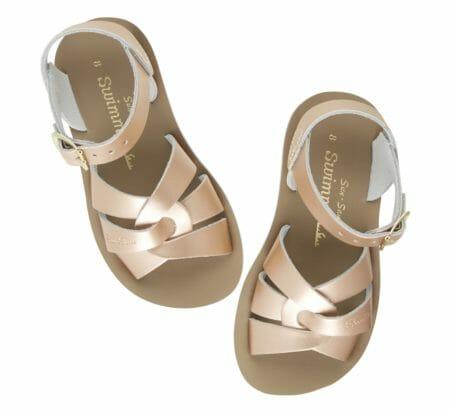 Rozīgi zeltītās Sun-San sandales Y