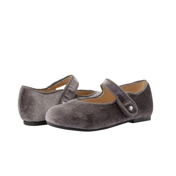 Old Soles samta kurpītes – pelēkas 2