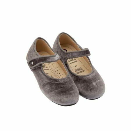 Old Soles samta kurpītes – pelēkas