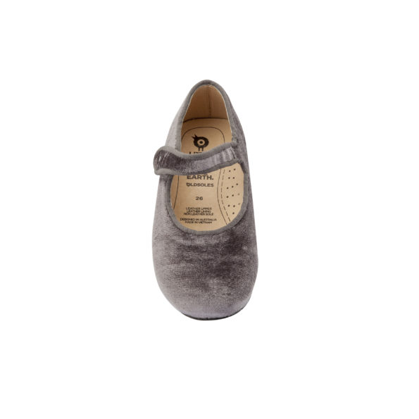 Old Soles samta kurpītes – pelēkas 3