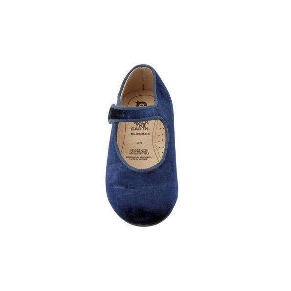 Old Soles samta kurpītes – zilas 3