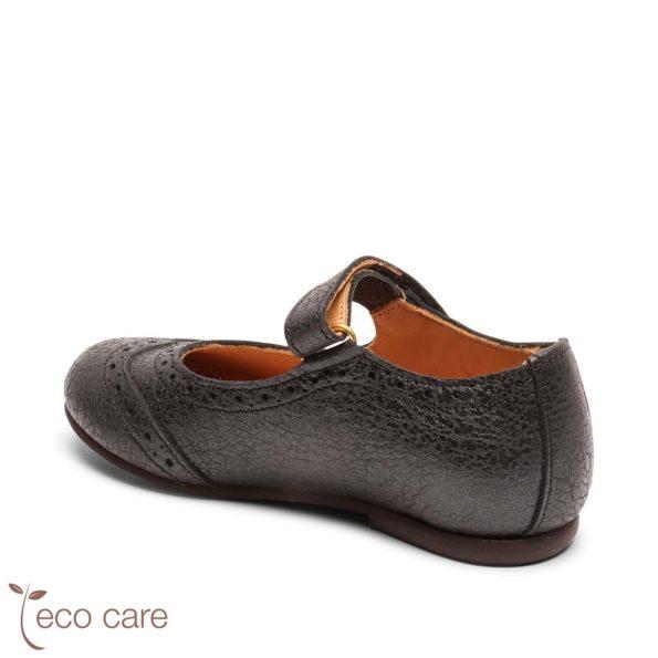 bisgaard ādas kurpītes – spoži melnas 2