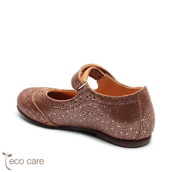 bisgaard ādas kurpītes – spoži brūnas 2