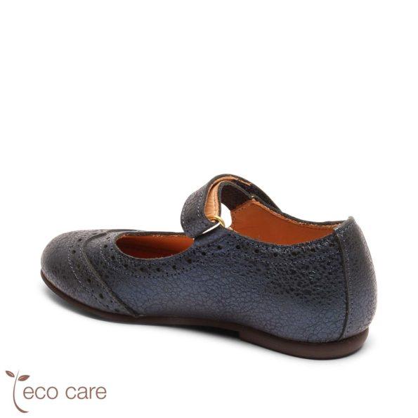bisgaard ādas kurpītes – tumši zilas 2