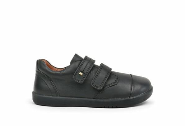 Bobux ādas kurpes Port - melnas