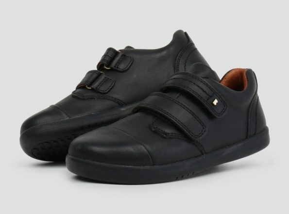 Bobux ādas kurpes Port – melnas 2