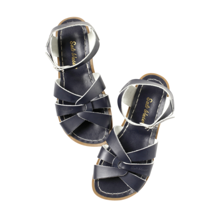 Salt-Water zilās sandales - lielākas