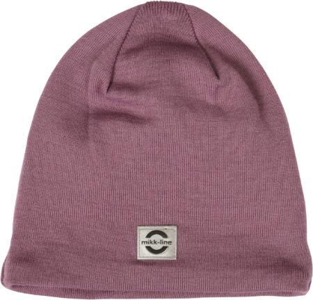 Gaiši violetā pusvilnas cepure