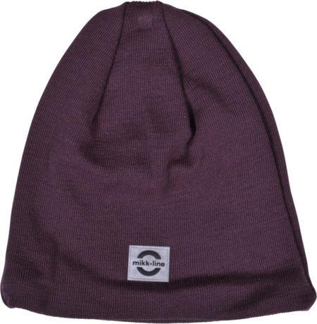 Tumši rozā pusvilnas cepure