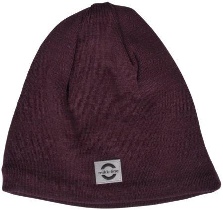 Vīģu sārta pusvilnas cepure
