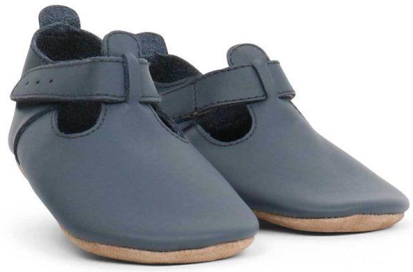 Bobux zilās kurpītes ar T-veida siksniņu 3