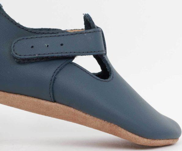 Bobux zilās kurpītes ar T-veida siksniņu 2