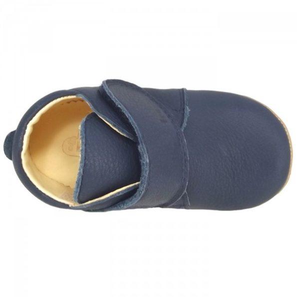 Froddo ādas kurpītes – zilas 2