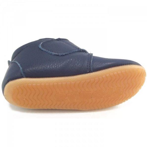 Froddo ādas kurpītes – zilas 3