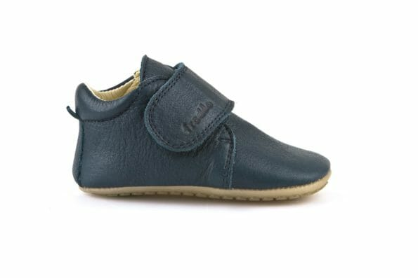 Froddo ādas kurpītes – zilas