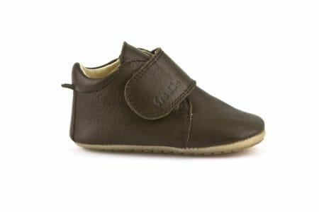 Froddo ādas kurpītes – brūnas