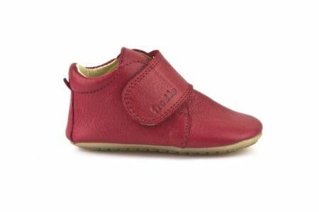 Froddo ādas kurpītes – sarkanas