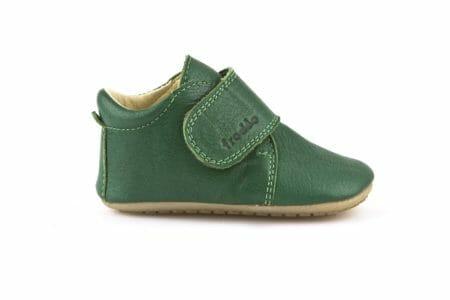 Froddo ādas kurpītes – zaļas