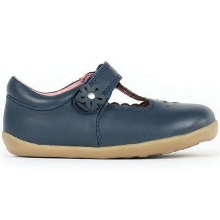 Bobux zilas ādas kurpītes