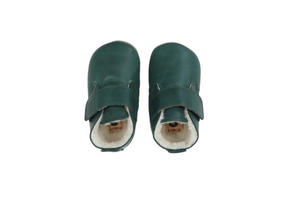 Bobux ar merino vilniņu – zaļi