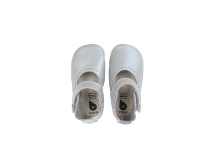 Bobux pirmās kurpītes - sudrabotas