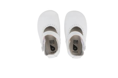 Bobux pirmās kurpītes - baltas