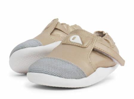 Bobux ādas kurpītes - zeltītas
