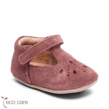 bisgaard ādas kurpītes Bloom-plūmju