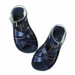 Zilās peldētāju sandales jauniešiem 1