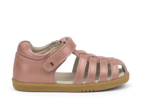 Bobux Jump rozīgi zeltītas sandales