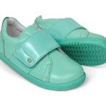 Bobux Boston ādas kurpes-piparmētru zaļas