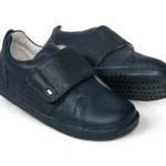 Bobux Boston ādas kurpes-tumši zilas