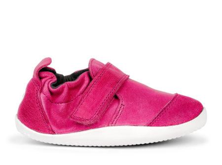 Bobux Marvel ādas kurpītes-aveņu rozā