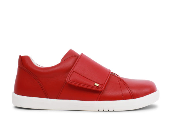 Bobux Boston ādas kurpes-sarkanas